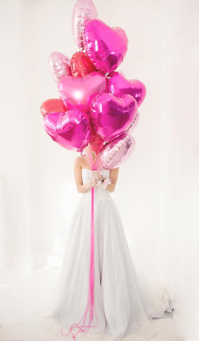 ballon coeur mariage comment faire se decoration 2